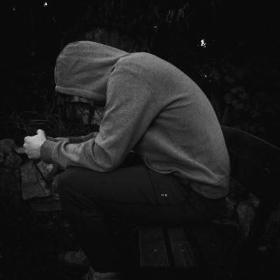Image of young person feeling sad